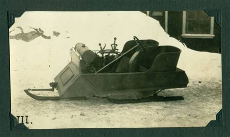 anonymous works  archive   snowmobile inventor
