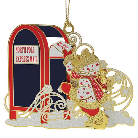 letters to santa ornament chemart ornaments solid
