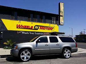 """Chevy Suburban on 24"""" Factory reproduction wheels style"""