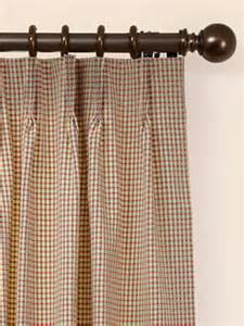 decorative traverse rod for pinch pleated curtains and