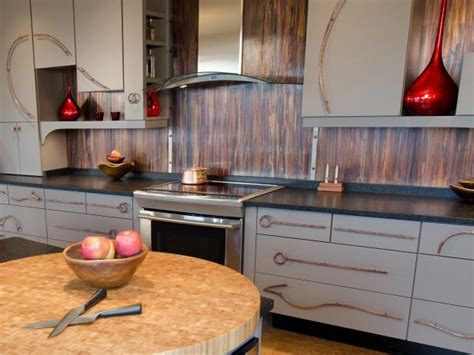 copper backsplash for kitchen metal backsplash ideas pictures tips from hgtv hgtv 5783