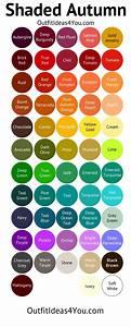 Light Beige Hair Color Chart Http Outfitideas4you Com Deep Autumn Color Palette