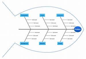 Management - Fishbone Quality Diagram