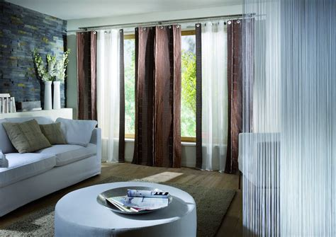 modern style curtains living room home interior design