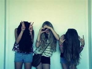 beauty, best friends, cute, friendship, fun - image ...