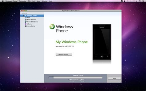 apple approves windows phone 7 connector in mac app store