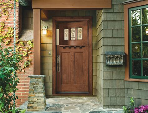 craftsman doors today design   arts crafts house