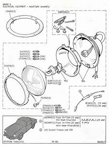 Headlight Assembly   Canley Classics