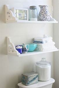 top 10 diy ideas for bathroom decoration With pictures of bathroom shelves