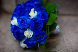 blue wedding flowers bouquet bridal blue bridal bouquet