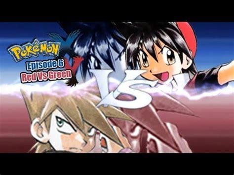 pokemon    wifi battle manga red  manga green