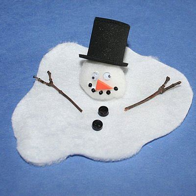 snowmen learning activities chasing supermom 845 | melted snowman family crafts