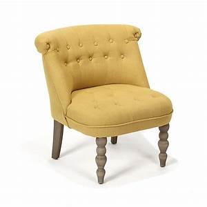 Fauteuil Jaune Alinea : fauteuil cosy style crapaud jaune chanteloup fauteuils fauteuils poufs salon salle ~ Teatrodelosmanantiales.com Idées de Décoration