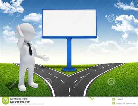 Blank Billboard Template white man  large blank billboard stock illustration 1300 x 1000 · jpeg