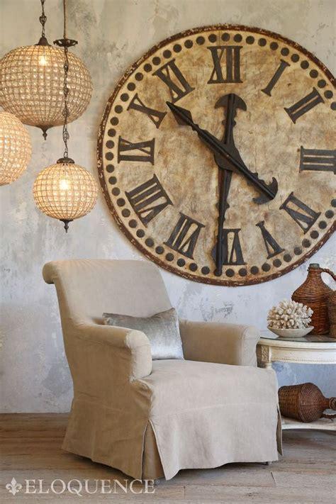 oversized clocks ideas  pinterest big clocks