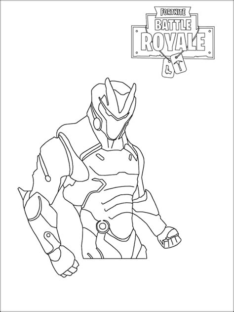 fortnite coloring pages printable  coloring