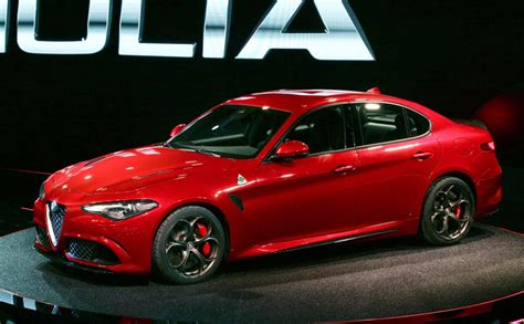 Mamma Mia The New Alfa Romeo Giulia Finally Revealed