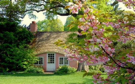 Cottage Style Wallpaper by Cherry Cottage Hd Desktop Wallpaper Widescreen High
