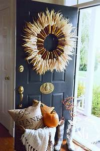 20, Awesome, Diy, Fall, Door, Decorations
