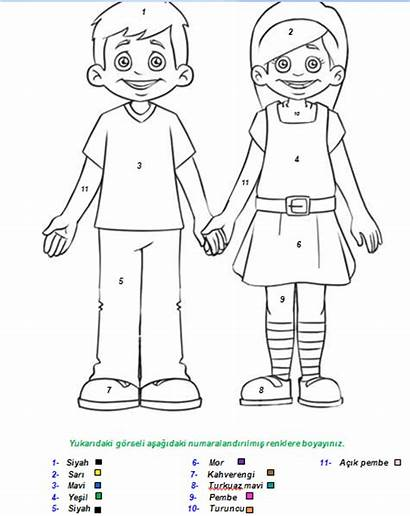 Human Colouring Pages Coloring Preschool Kindergarten Crafts