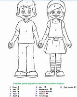 Human Colouring Pages Coloring Preschool Kindergarten Template Worksheet Crafts Bodies Painting sketch template