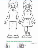 Human Colouring Pages Coloring Preschool Kindergarten Crafts Preschoolcrafts sketch template