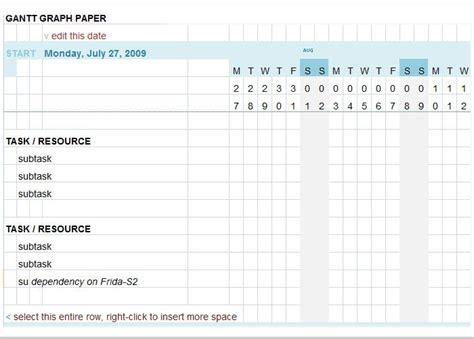 gantt chart template   excel  documents
