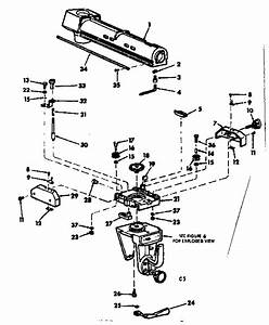 Radial Arm Assembly Diagram  U0026 Parts List For Model