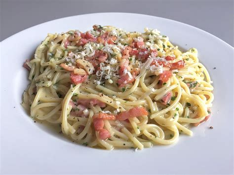 Recipe Of Spaghetti Carbonara Wikipedia