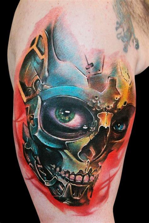 crazy skull tattoos designs mens craze