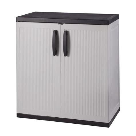 small plastic storage cabinet plastic black free standing cabinets garage cabinets