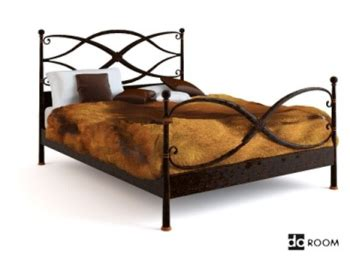 32784 beds for toddlers retro iron bed 3d model 3d model free 3d models