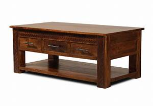 Coffee tables ideas mango coffee table with drawers kona for Mango wood coffee table round