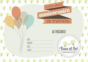 Carte Anniversaire Pour Enfant : un anniversaire au parc hisse et ho original et inoubliable ~ Melissatoandfro.com Idées de Décoration