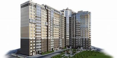 Building Buildings Residential Apartment Transparent Clipart Studio