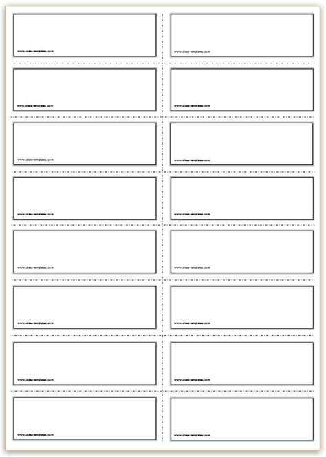 image result  flash card template flash card