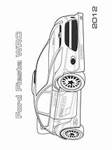 Ford Coloring Pages Printable sketch template