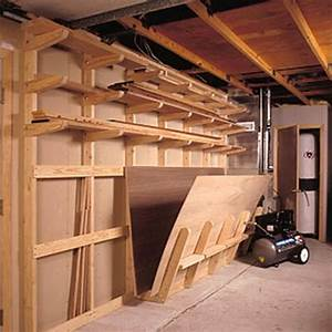 Lumber Storage Racks Plans - WoodWorking Projects & Plans