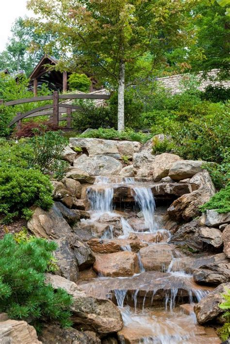 backyard streams and waterfalls 778 best images about backyard waterfalls and streams on