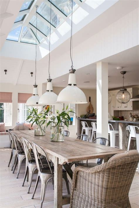beachy chandeliers property style dining room design ideas interior god