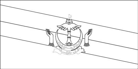 Bendera Mewarnai Gambar