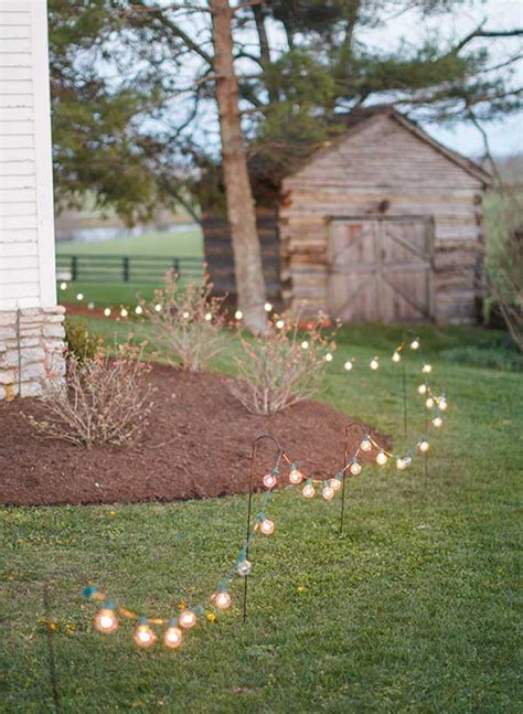 diy pathway lighting ideas  garden  yard