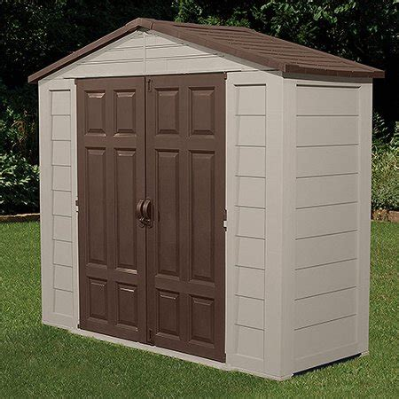 suncast storage shed suncast 7 5 x 3 outdoor storage building shed