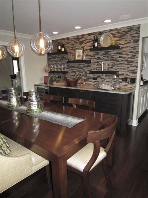 Dining Room Bar Ideas by Contemporary Dining Room Contemporary Dining Room
