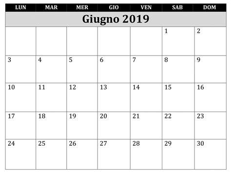 calendario luglio 2019 da stare pdf calendario giugno 2019 da stare migliori pagine da
