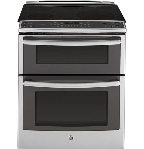 ge slide in gas range reviews ge profile series 30 quot slide in front oven