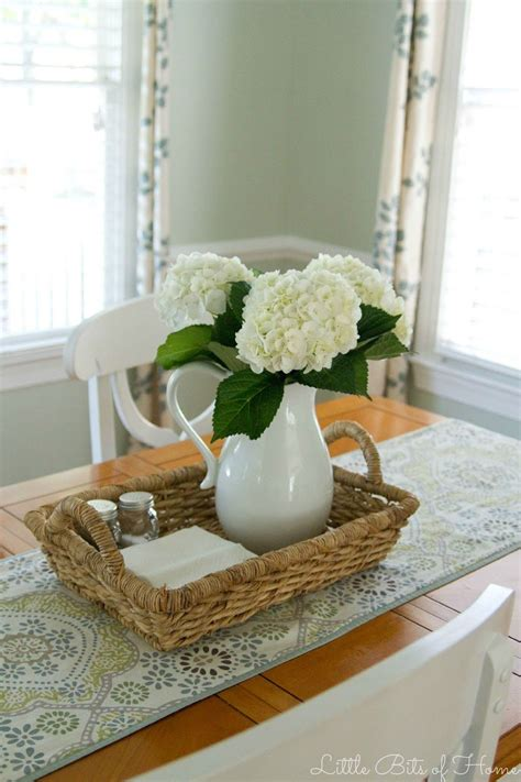 clean table club dining room centerpiece table