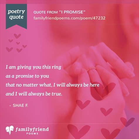 promise ring poem  promise