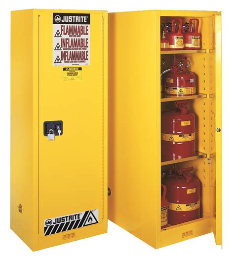 justrite flammable cabinet singapore justrite 22gal slimline yellow cabinet 1 door manual sure