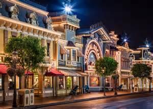 Main Street USA Disneyland California